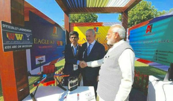 This 18-year-old from Ahmedabad is going to supply the Indian Army with drones to detect landmines