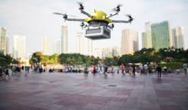 Delivery drones will use 10 times more energy than vans around town