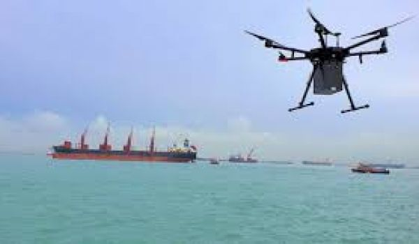 F-Drones Working to Drop the Average Cost of a Delivery by Boat Via Drones
