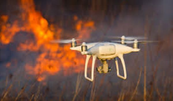 Drones could help firefighting efforts