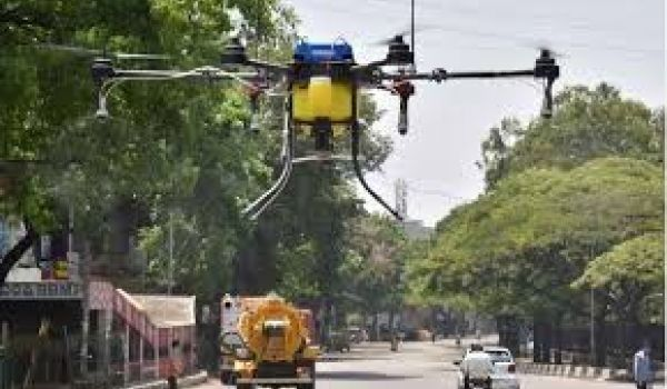 Hyderabad: Drones to carry out sanitisation soon